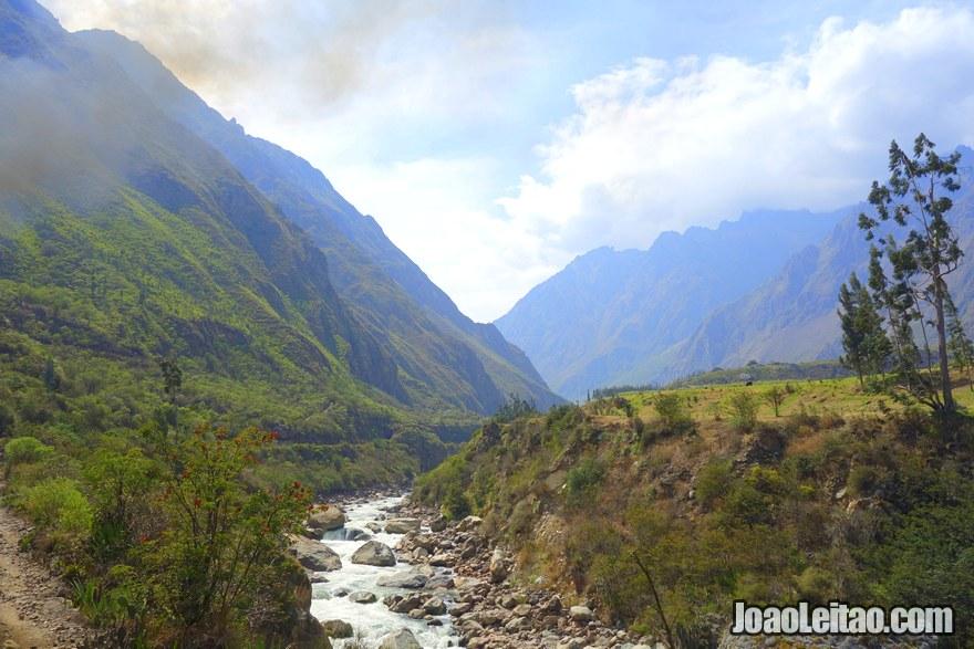 The Sacred Valley of the Incas Peru