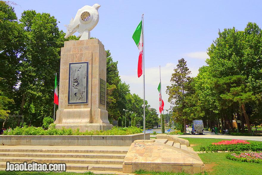 Parque Shahr em Teerão