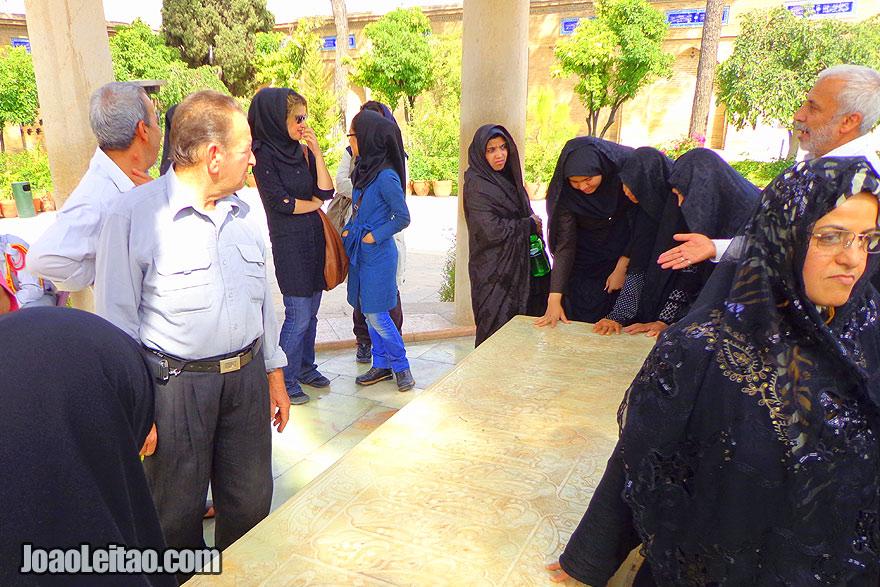 Túmulo de Hafez em Shiraz
