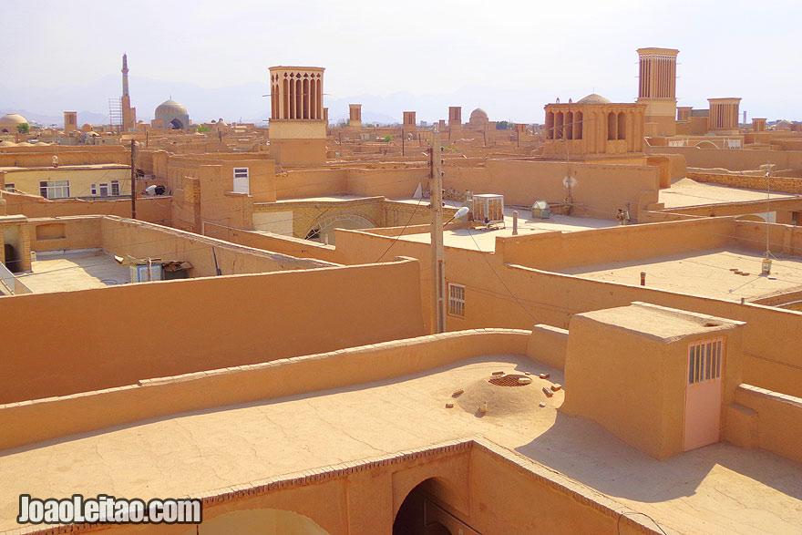 Cidade antiga de Yazd