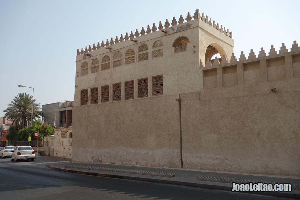 Arquitectura tradicional da zona história da Indústria perlífera do Bahrein