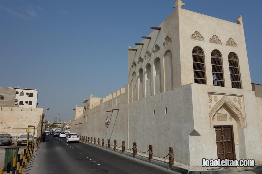 Exterior da casa do Shaikh Isa Bin Ali em Murharraq no Barein