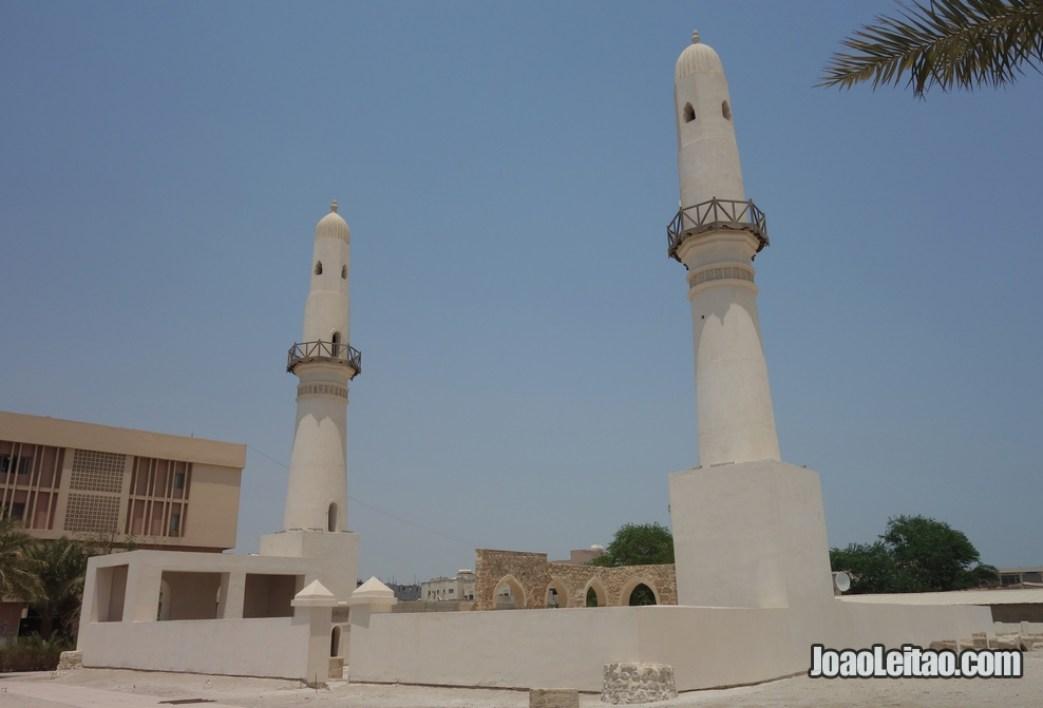 Mesquita Khamis cujas fundações datam do século VII