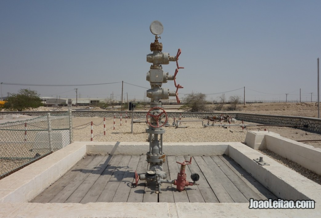 Primeiro poço de petróleo do Bahrein