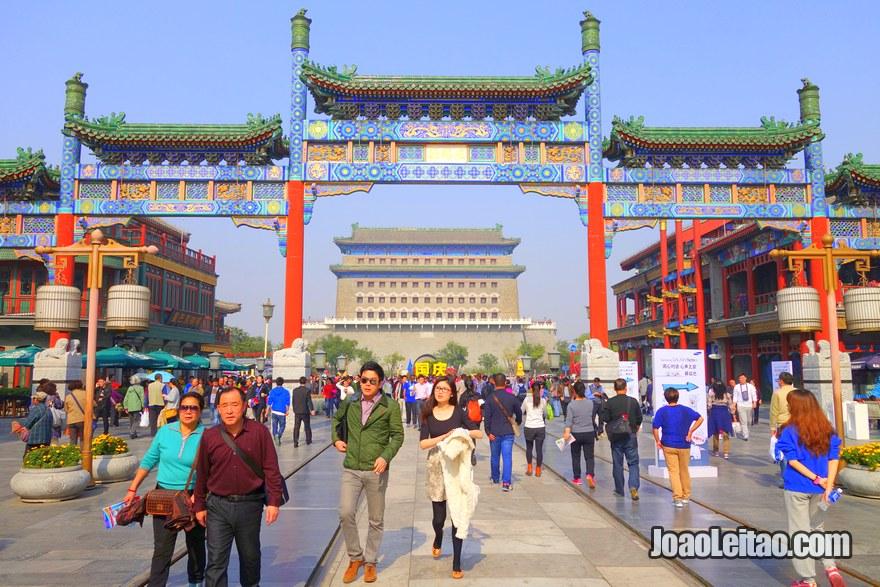 Foto da Torre Zhengyangmen