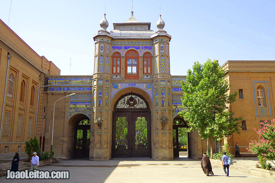Begh-e Melli in Tehran - Monuments and Sightseeing in Iran