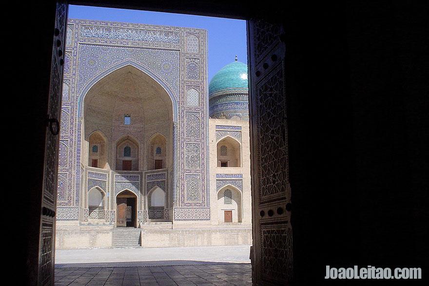 Mir i Arab Medressa in Bukhara
