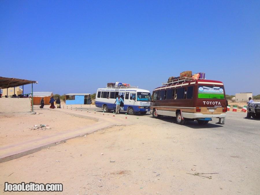 Berbera Airport in Somaliland