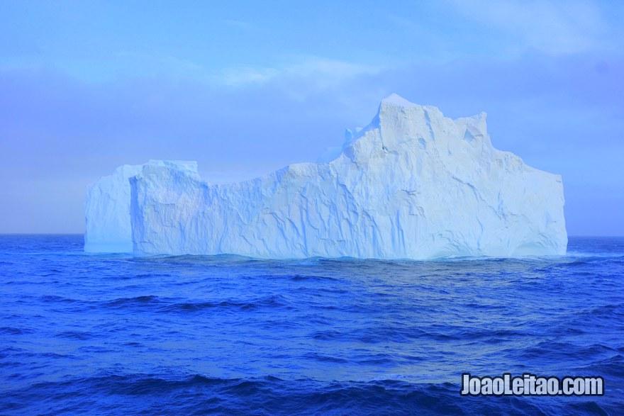 Iceberg in the Antarctic Circle