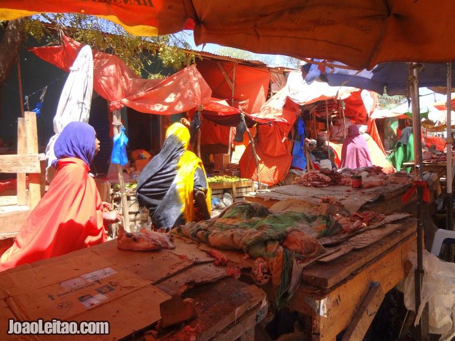 Market in Hargeisa Somaliland