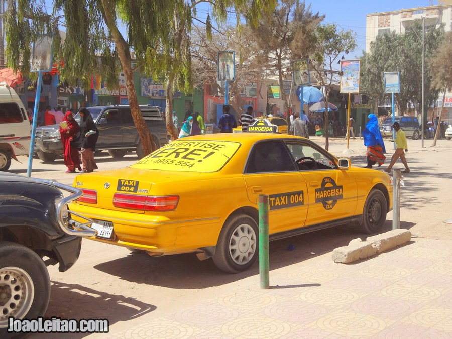 Hargeisa Taxis in Somaliland
