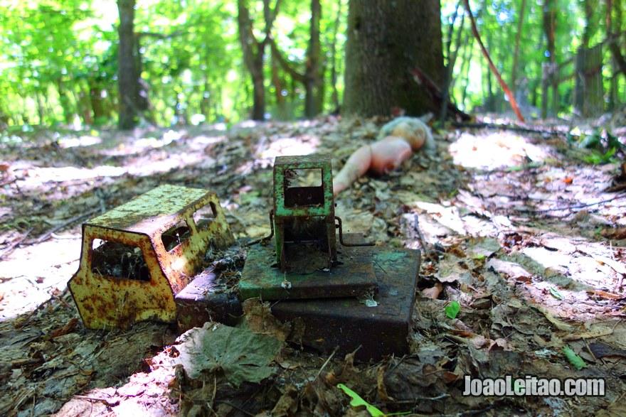Kopachi village old toys