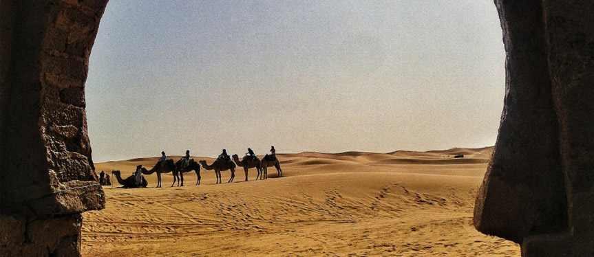 Camel trekking in Morocco - Mind-blowing Sahara Desert Hotel