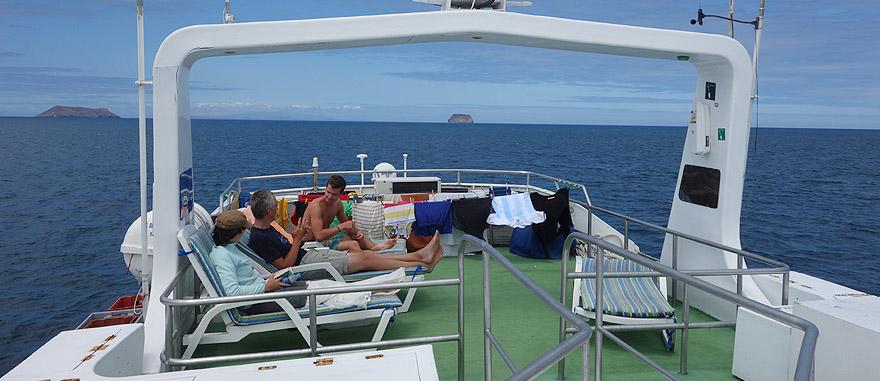 Último andar do cruzeiro nas Galápagos Estrella del Mar