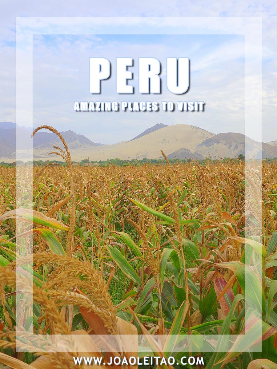 Visit Peru  - 80 Amazing places to Travel
