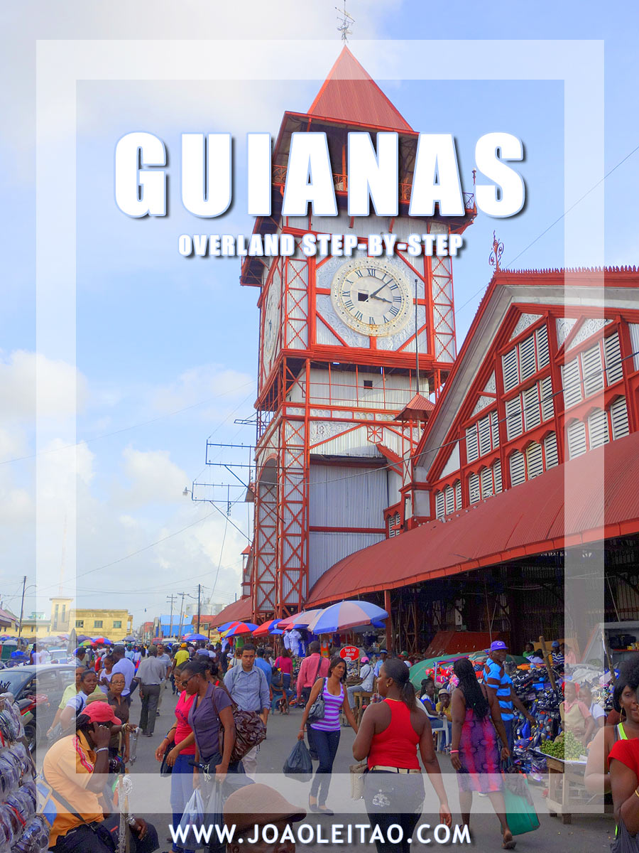 The Guianas Overland step-by-step - South America