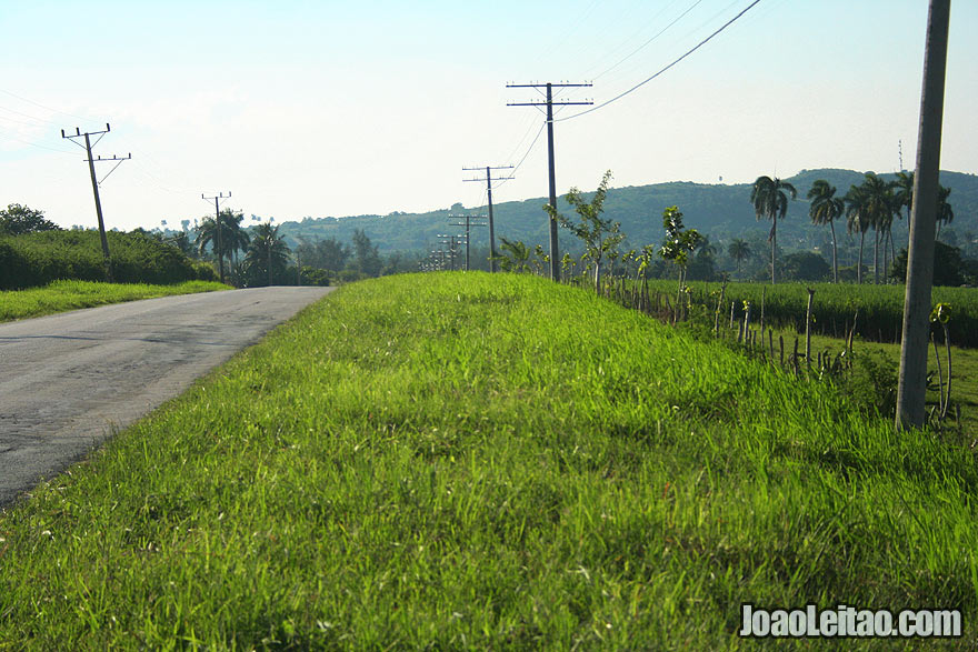 Countryside Road in Cuba
