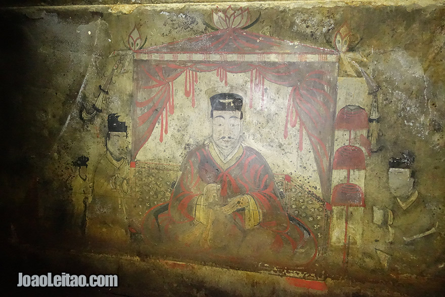 The King Kogukwon's mausoleum often called as the Anak Tomb No.3 has 1700-year-old frescoes. This UNESCO site was one of the highlights of my trip to North Korea.
