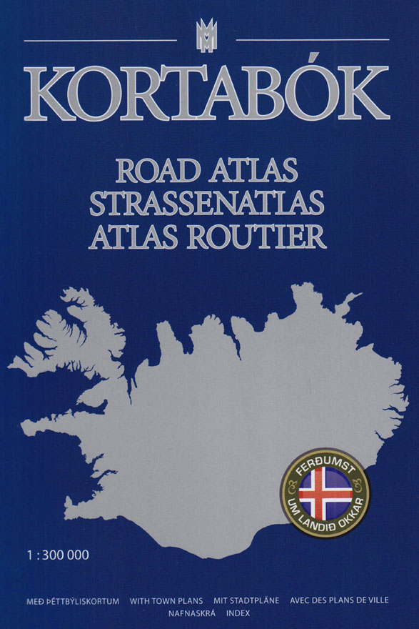 Map of Iceland - Road Atlas