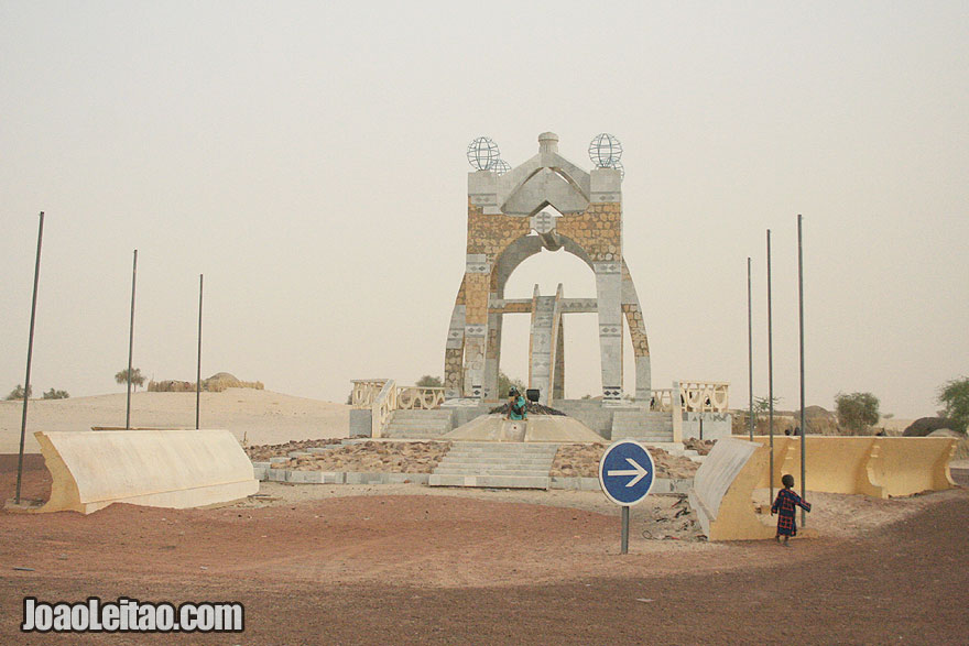 Peace Monument in Timbuktu