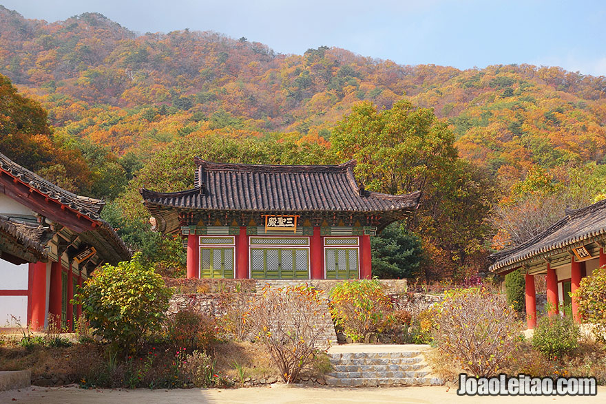 Samsong Temple was build in the end of Koryo dynasty to hold memorial services for Tangun, founder of Gojoseon, the first Korean kingdom.