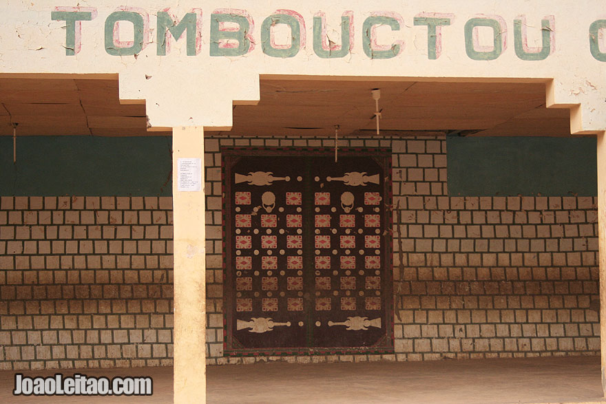 Tombouctou written in wall