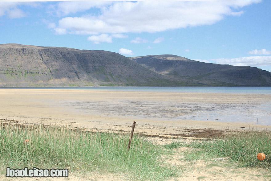 Visit Patreksfjordur Sandy Beaches Westfjords Region Iceland