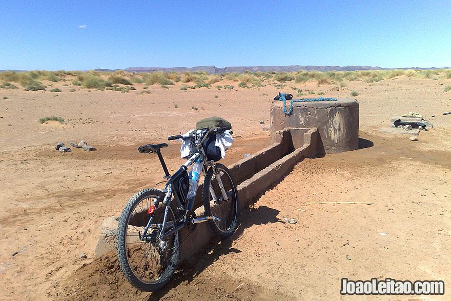 Sahara Desert water well