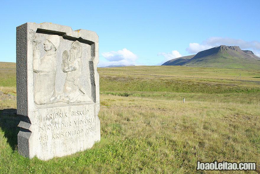 Visit First Christian Missionaries Monument Northwestern Region Iceland