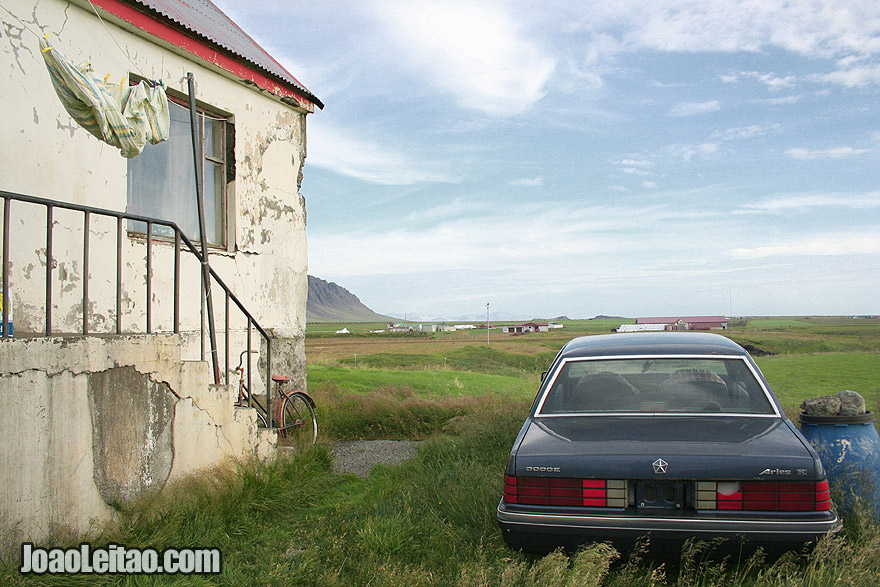 Abandoned House Iceland