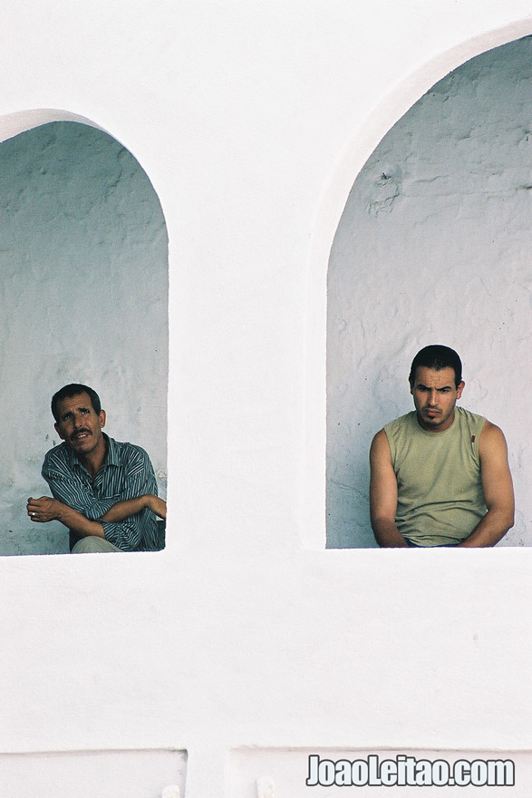 Photo of men in Chefchaouen, Morocco