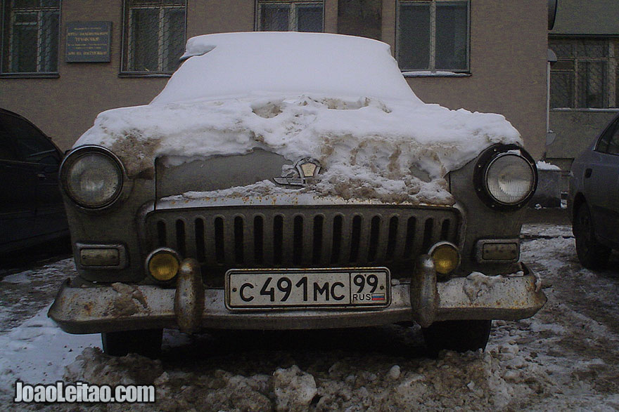 Conduzindo na Rússia durante o Inverno: o que  deve saber