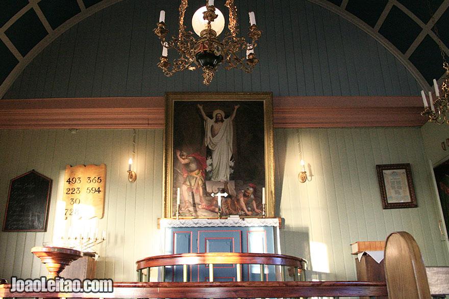 Visit Setberg Wooden Church Western Region Iceland