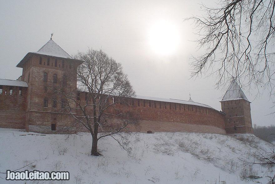 Veliky Novgorod uma das cidades mais antigas da Rússia