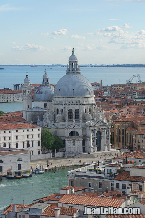 Basilica of St Mary of Health or Basilica di Santa Maria della Salute