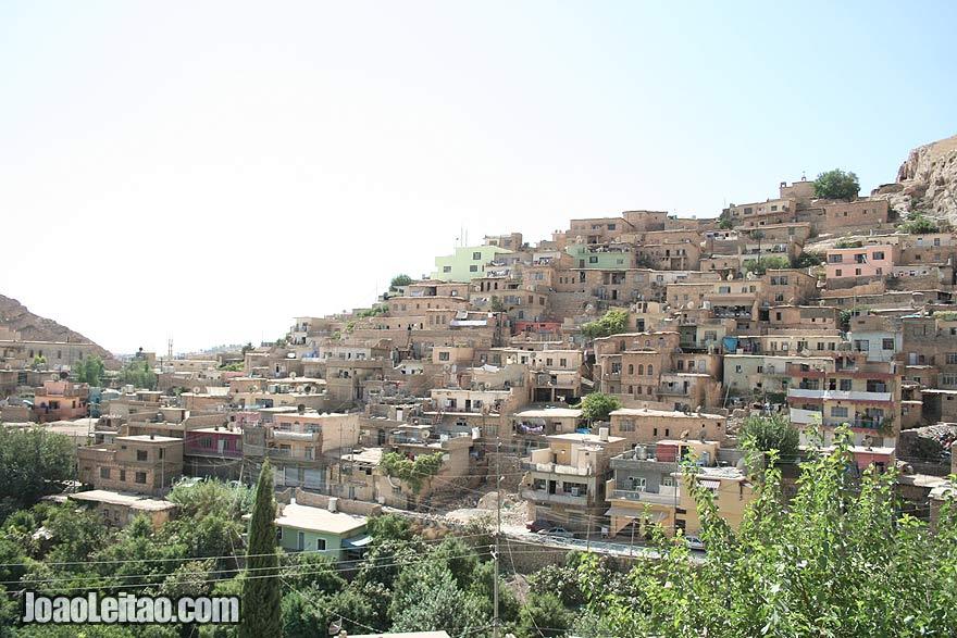 Old city - Visit Aqrah