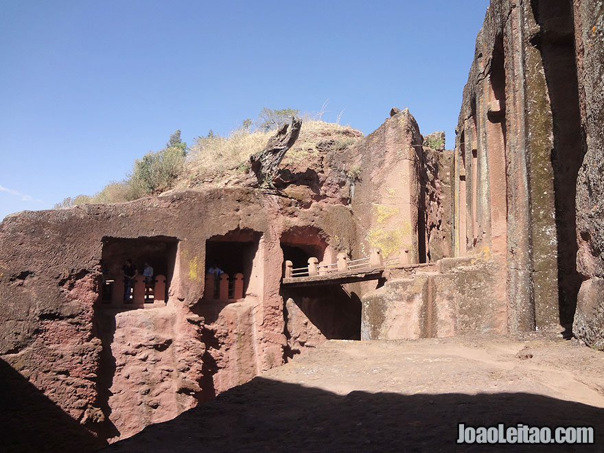 Rock-Hewn Church of Bet Gabriel and Rufael in Lalibela