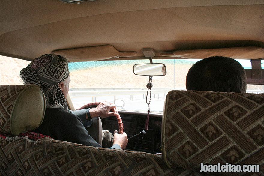 Taxi from Salahaddin to Erbil