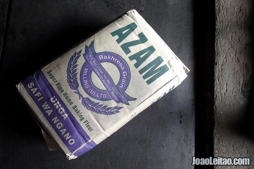 Azam super fine home baking flour