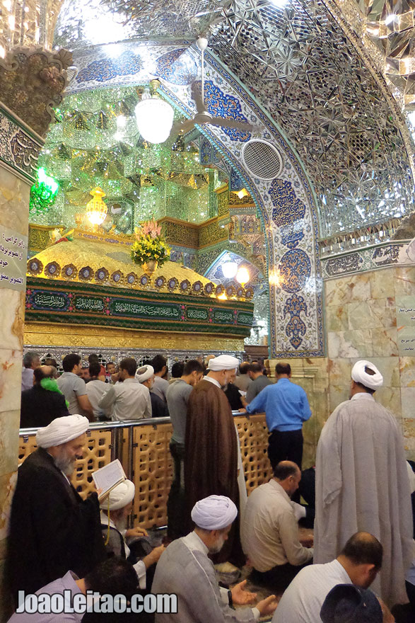 Tomb of Fatima Masumeh in Qom, Iran