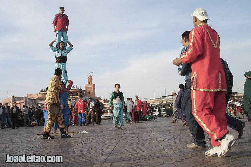 Acrobats of Marrakesh