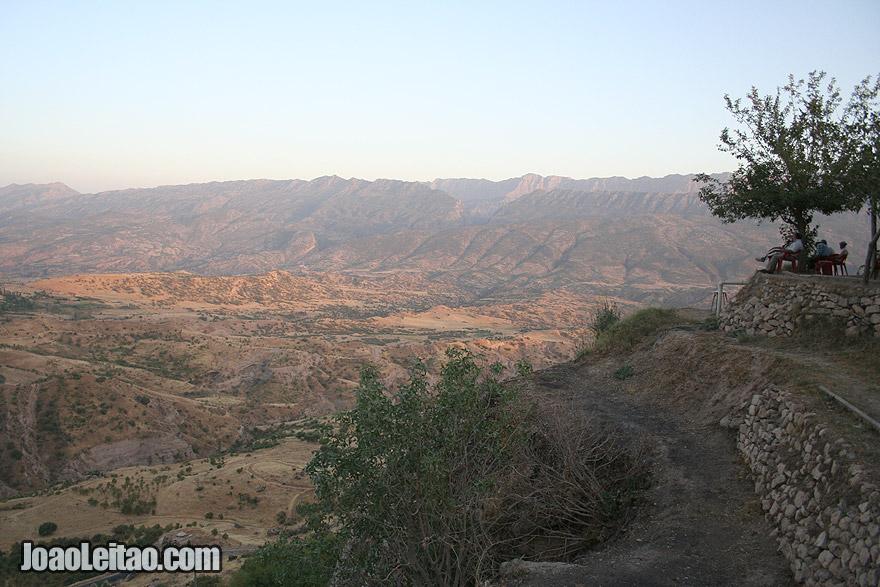 View from Amedi in Iraq Kurdistan