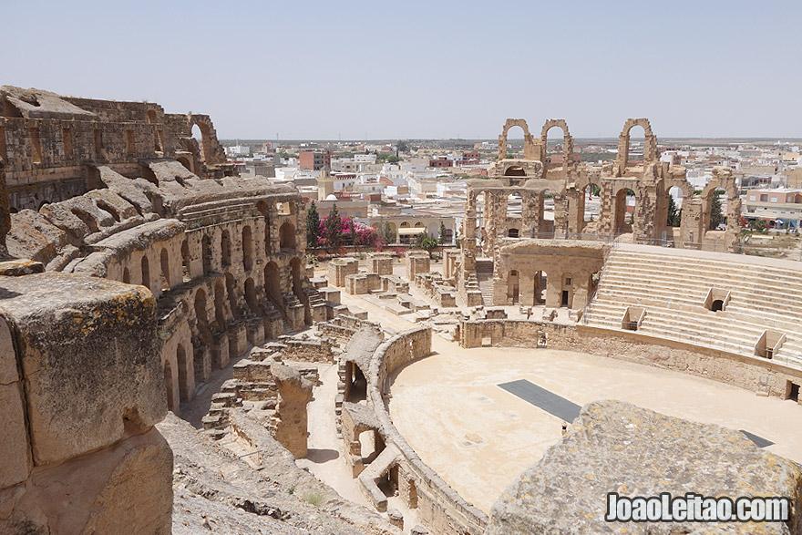 Amphitheatre El-Jem in Tunisia