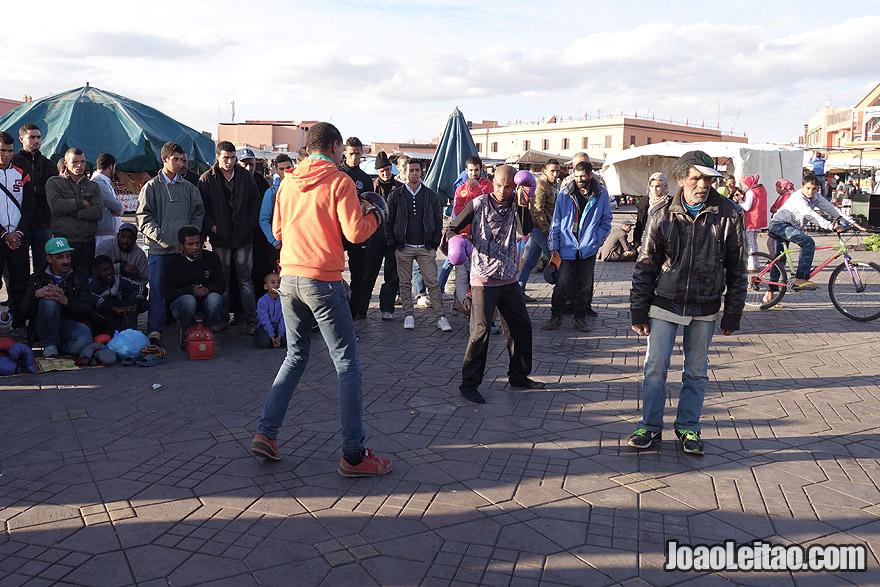 Boxing in Marrakesh