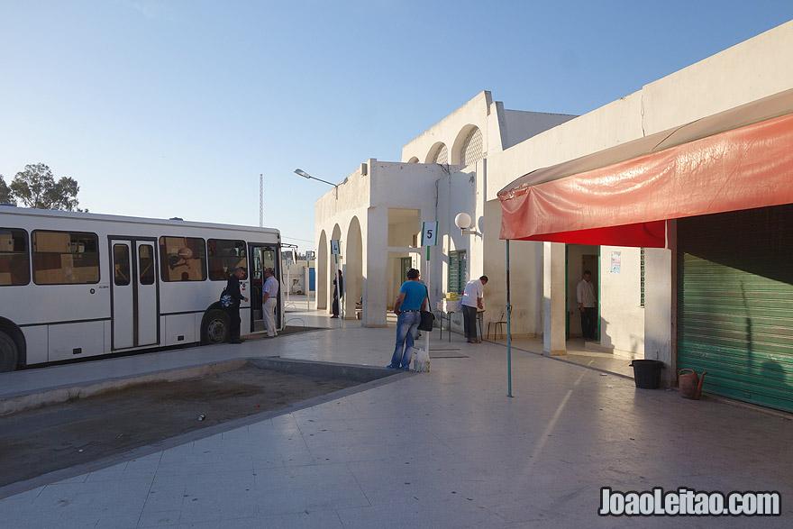 Kairouan bus station