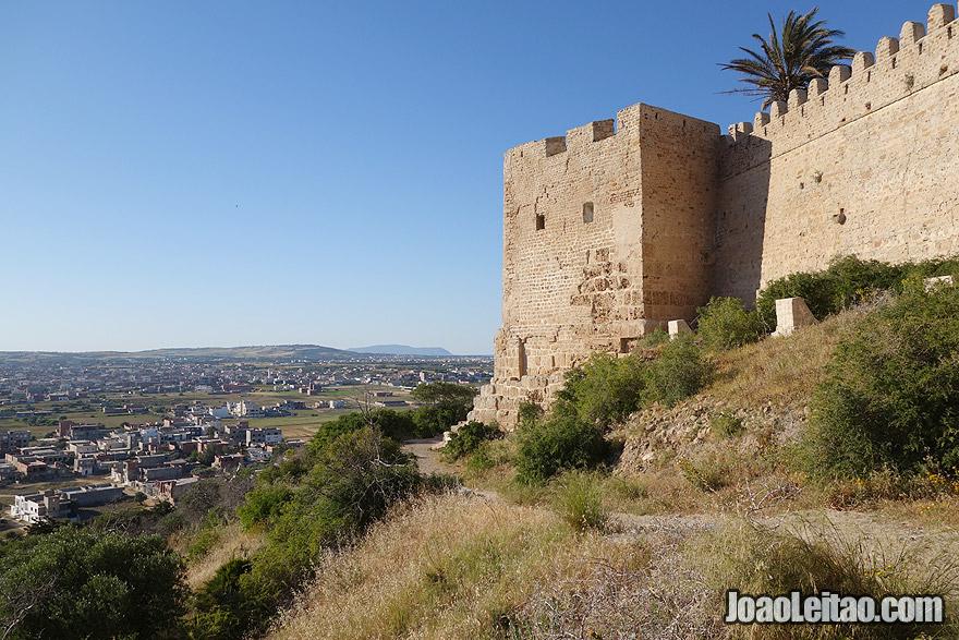 Kelibia castle in Tunisia