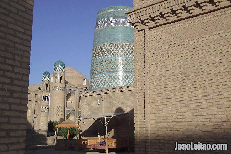 Kalta-minor Minaret in Khiva