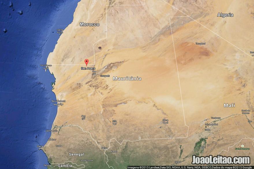 Ben Amera Ben Aicha Mauritania Isolated Desert Monoliths