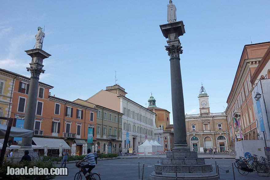Piazza del Popolo em Ravenna