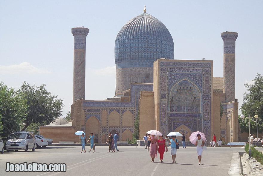 Gur-e Amir Mausoleum in Samarkand